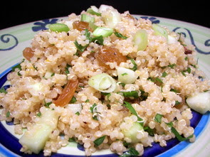 Golden Sunshine Quinoa Salad