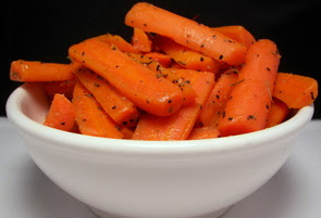 Brown-Sugar Glazed Carrots