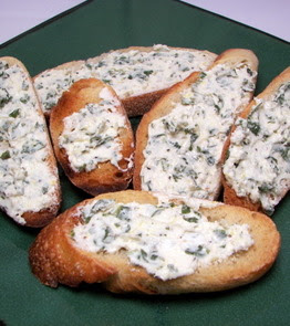 Herbed Goat Cheese and Toast