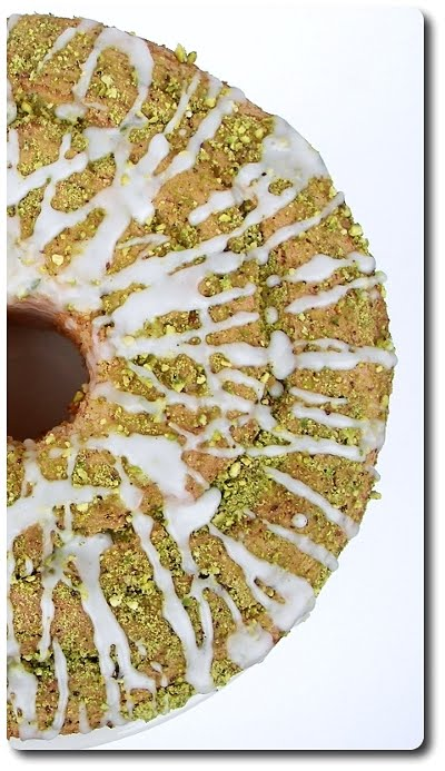 Lime Angel Food Cake with Lime Glaze and Pistachios (Adapted from Bon ...