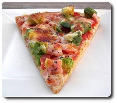 Avocado and Canadian Bacon Pizza (Adapted from the California Avocado ...