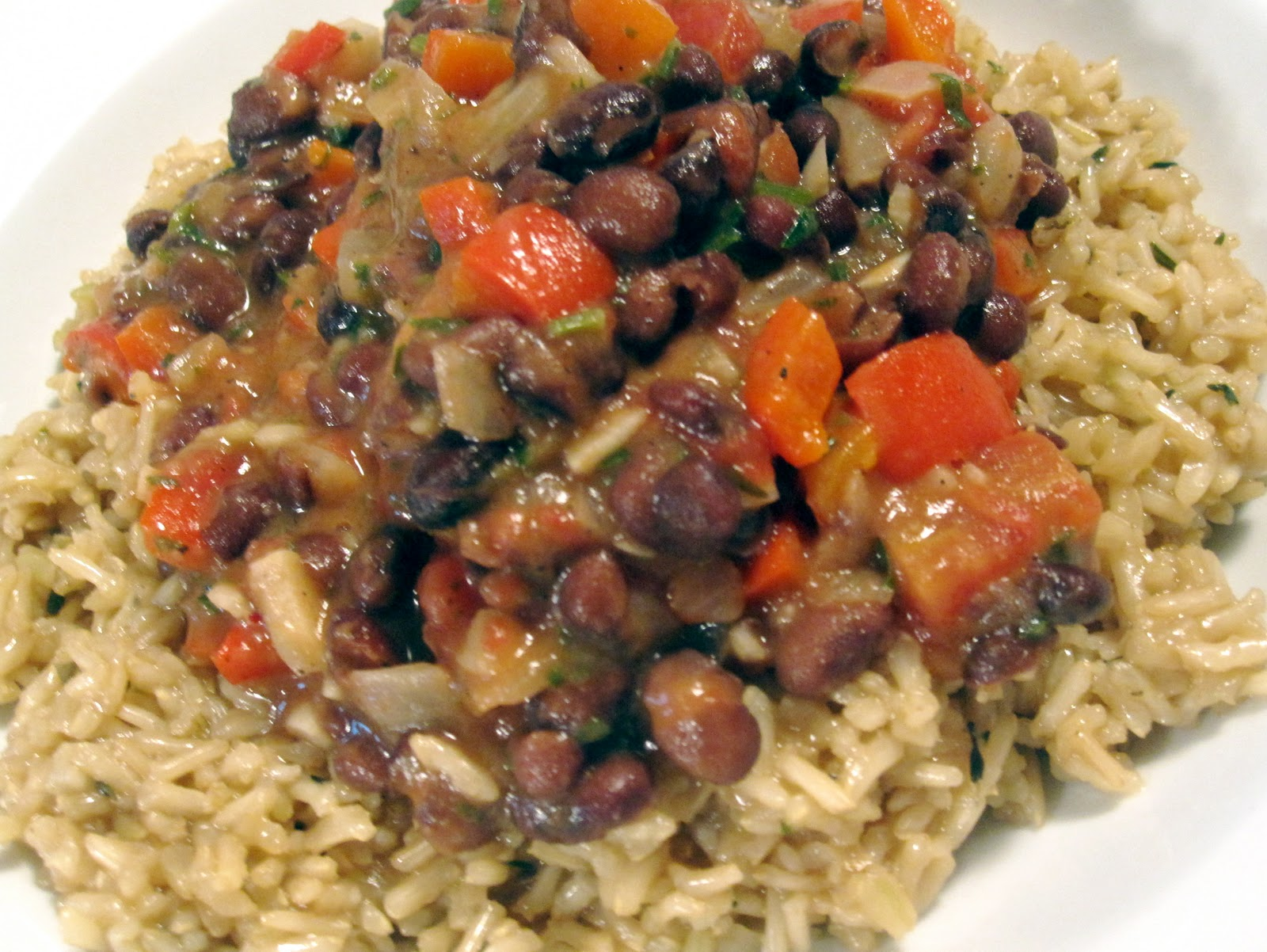 I heart cooking clubs black beans and rice spanish style ccuart Choice Image