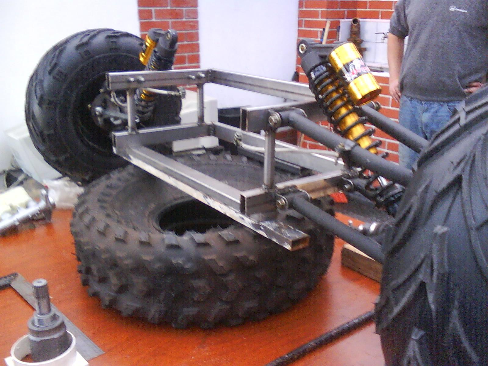 Encantador Cómo Construir Un Marco De Go Kart Galería - Ideas ...