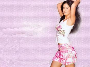 Katrina Kaif in Mini Skirt title=