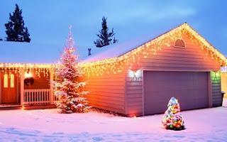 Christmas Lighting House