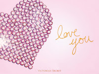 Victoria's Secret valentines day background wallpapers pink heart.