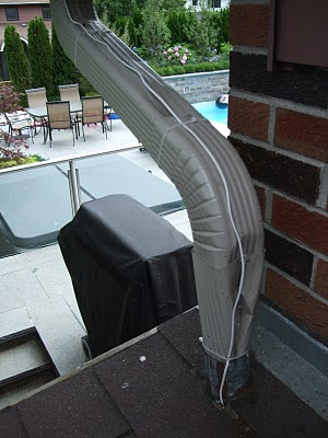 How not to install downspouts Toronto