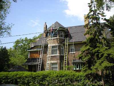 Eavestroughing can be dangerous!