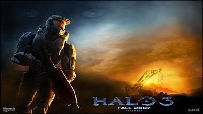 Halo 3 Black and White