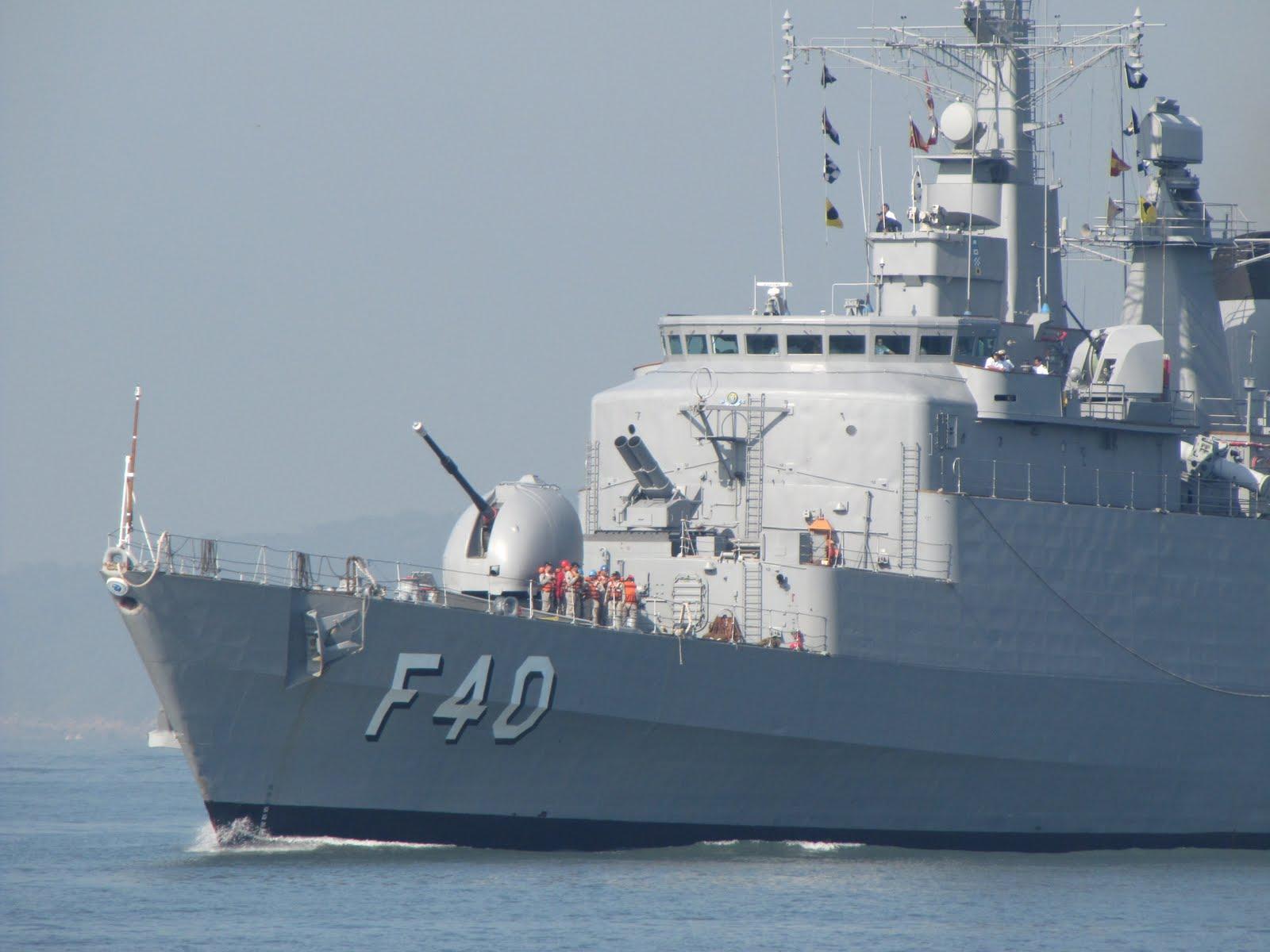 Armada uruguaia participará em manobras marítimas com Brasil