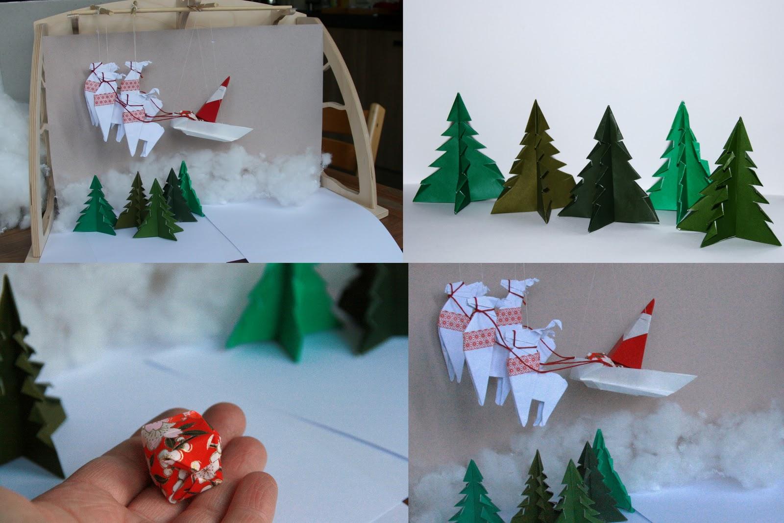 origami santa claus instructions