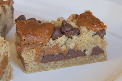 The Recipe Girl: Chocolate Oatmeal Carmelitas
