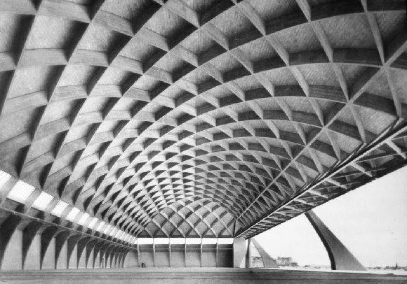 Laarquitectura muestra de arquitectura italiana 1957 for Estructuras arquitectonicas