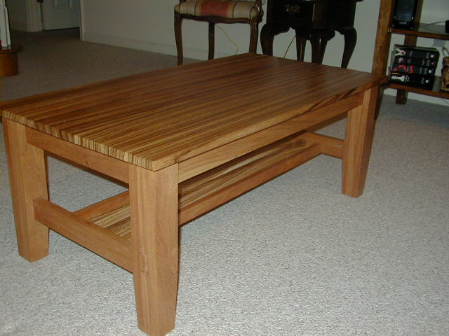 Coffee table - very hard wood