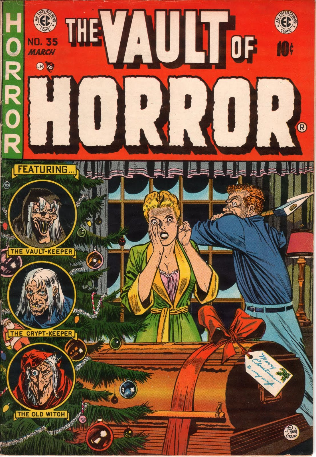 Imaeg of Vault of Horror cover
