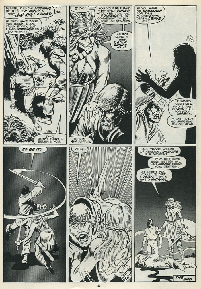 The Savage Sword Of Conan Issue #172 #173 - English 35