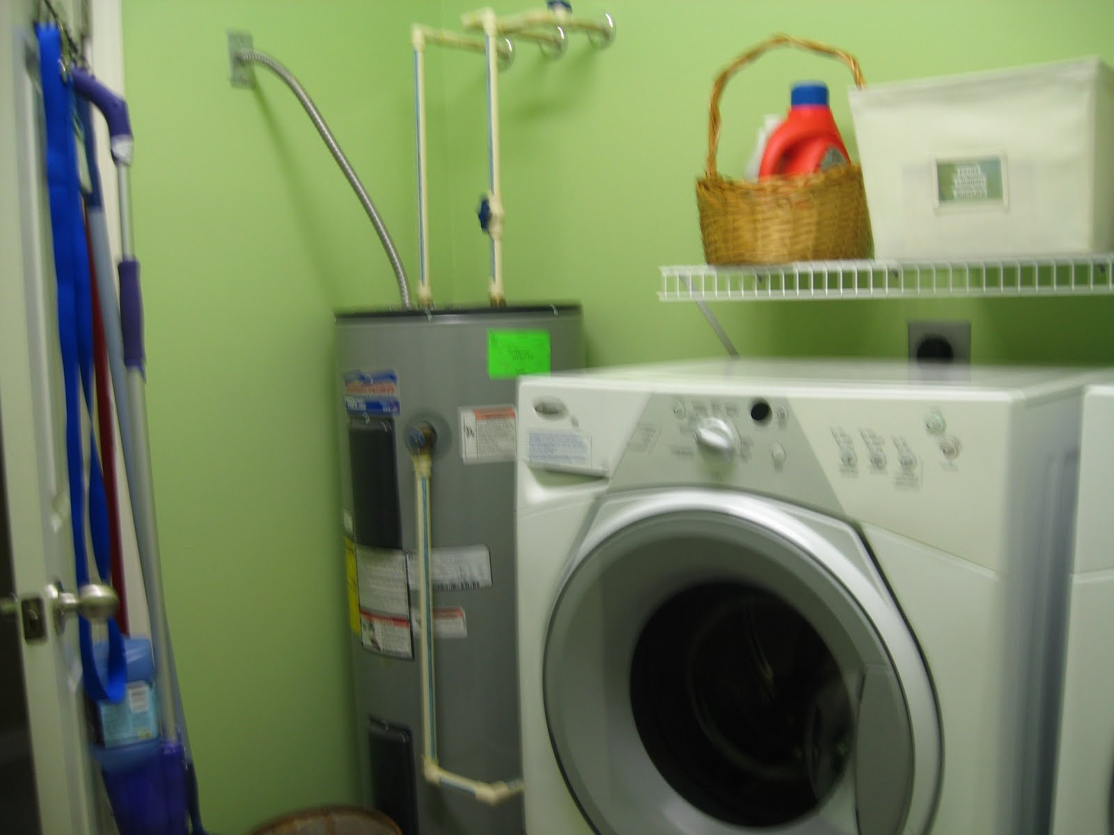 Brought to You by the Couch: Show Me Your Life - Laundry Room