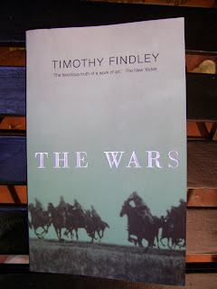 the wars timothy findley The use of animal imagery in the wars timothy findley's the wars describes the history of robert ross, a second lieutenant in the canadian army, during world war 1.