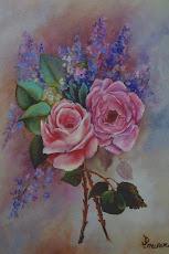 Pink Pair of Roses