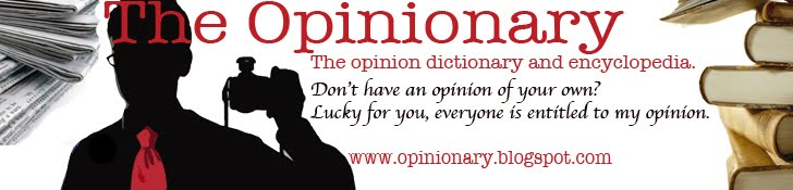 The Opinionary Blog