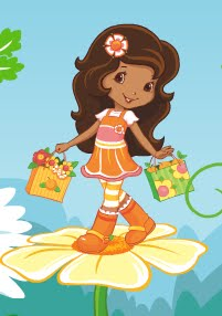 Orange Blossom Cartoon Strawberry Shortcake