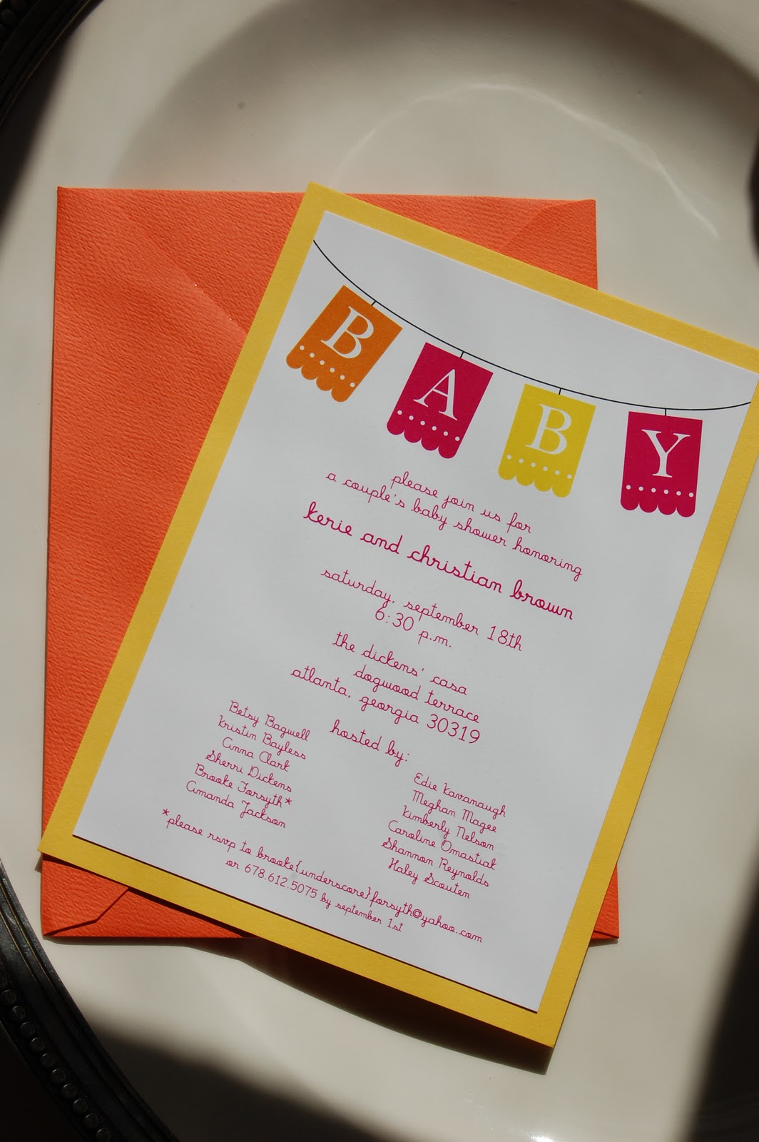 ole! mexican baby shower invitation | Calliespondence