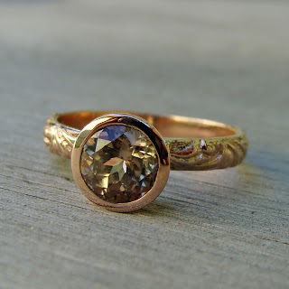 zultanite rose gold