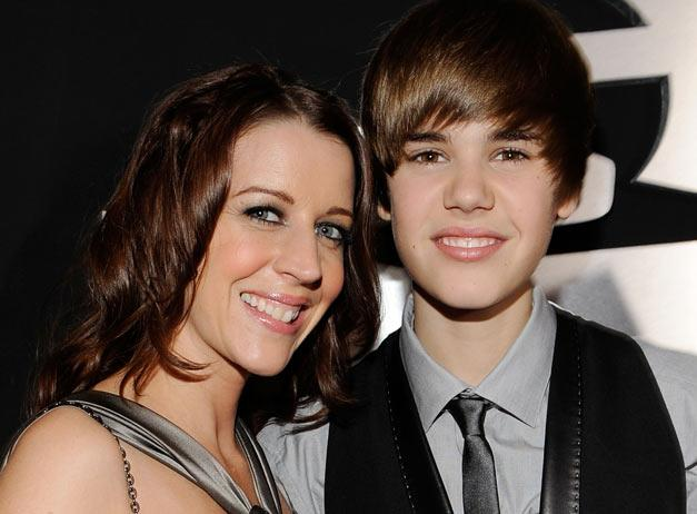 justin bieber as a baby with his mom. We already knew that Justin