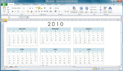 Office 2010 office 2010 calendar templates onenote pronofoot35fo Images