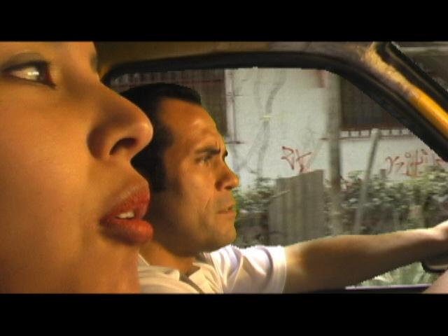 """Escena de cortometraje """"Marcada"""""""