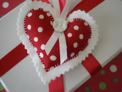 charming heart for christmas: sewing patterns