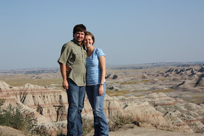 Scott and Trish, The Badlands