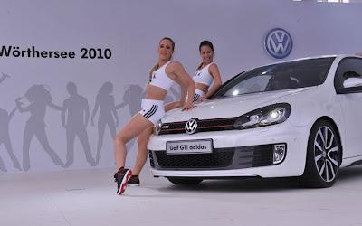 2010 Volkswagen Golf GTI adidas Car Show