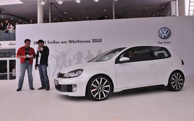 2010 Volkswagen Golf GTI adidas unveiled