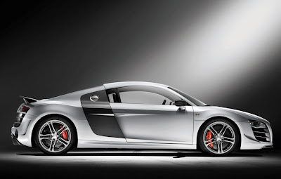 2011 Audi R8 GT Side View