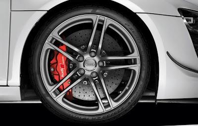 2011 Audi R8 GT Wheel