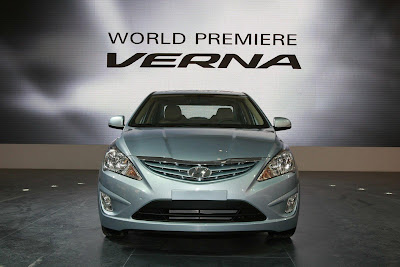 2011 Hyundai Verna-Accent Front View