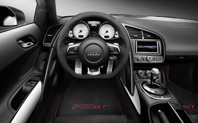 2011 Audi R8 GT Car Interior