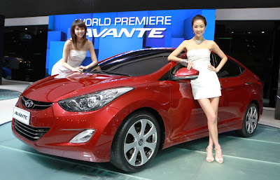 2011 Hyundai Avante Unveiled