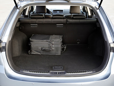 2011 Mazda 6 Wagon Cargo Room