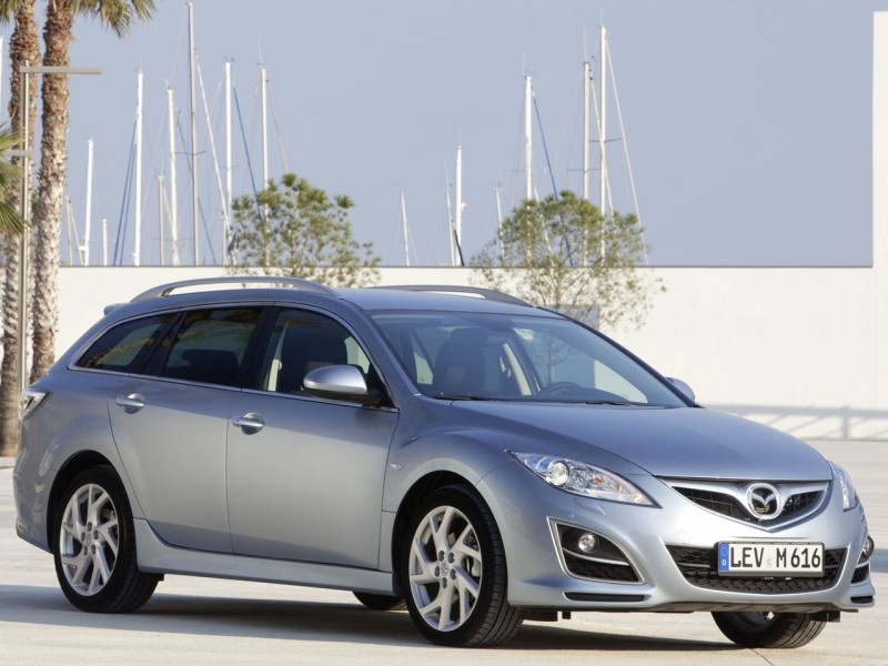 Hybrid Cars Gallery: 2011 Mazda 6 Wagon Official Pictures