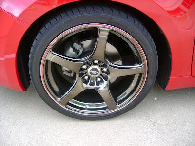 2010 Suzuki Kizashi Turbo Concept Wheel