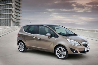 2011 Opel Meriva Car Wallpaper