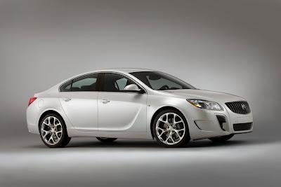 2010 Buick Regal GS Concept Side View