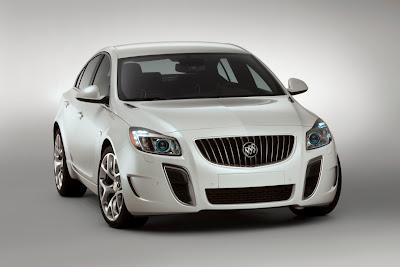 2010 Buick Regal GS Concept Front View