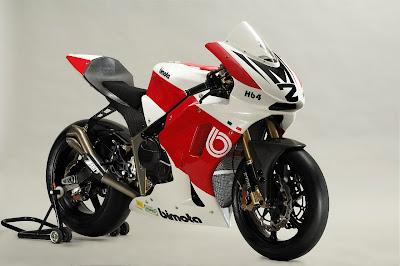 2010 Bimota HB4 Moto2 Sport Bike