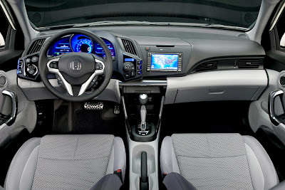 2011 Honda CR-Z Sport Hybrid Coupe Dashboard