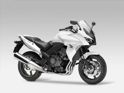 2010 Honda CBF1000 White Color
