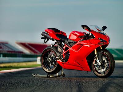 2010 Ducati 1198S Red