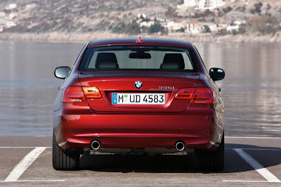 2011 BMW 3-Series Coupe Rear View